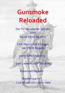Gunsmoke reloaded @ Schützenhaus | Heusweiler | Saarland | Deutschland