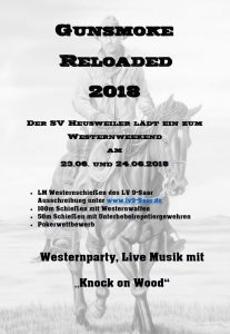 GUNSMOKE RELOADED 2018 @ SV Heusweiler